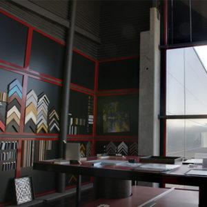 Interior de la nave del Laboratorio Fotográfico Online